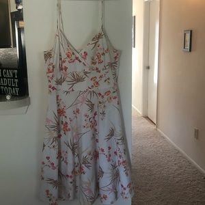 New York & Company White Dress